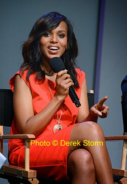 In the News: Kerry Washington & the cast of Scandal at the