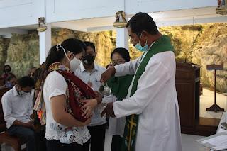 Penerimaan Sakramen Baptis 2020