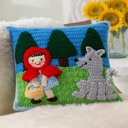 Red Riding Hood Pillow - Free Pattern