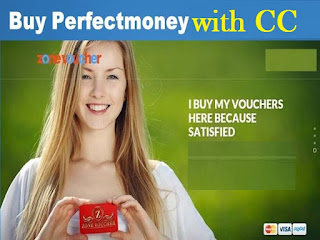 How to buy perfect money with credit card