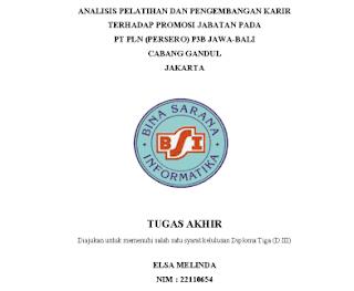 tugas akhir ma, tugas akhir manajemen administrasi, analisis pengembangan kariri