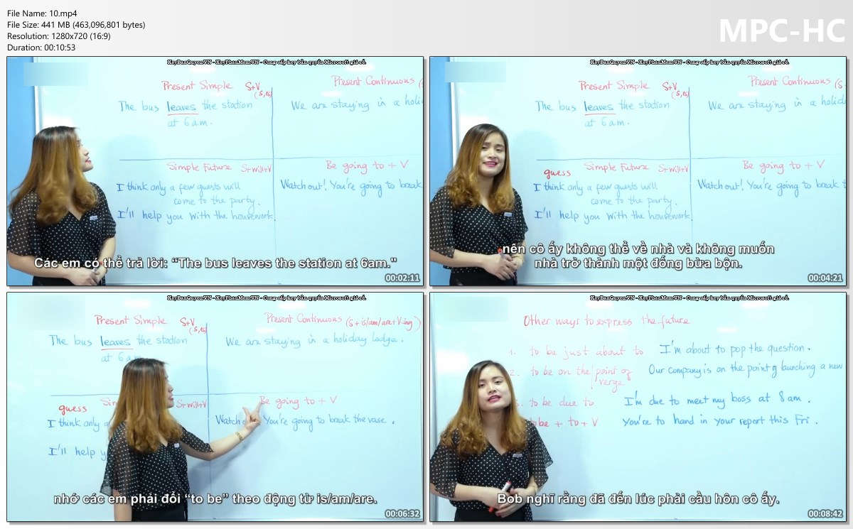 Video bài giảng khóa học Grammar Made Easy For IELTS