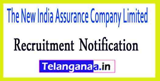The New India Assurance Company Limited NIACL Recruitment Notification