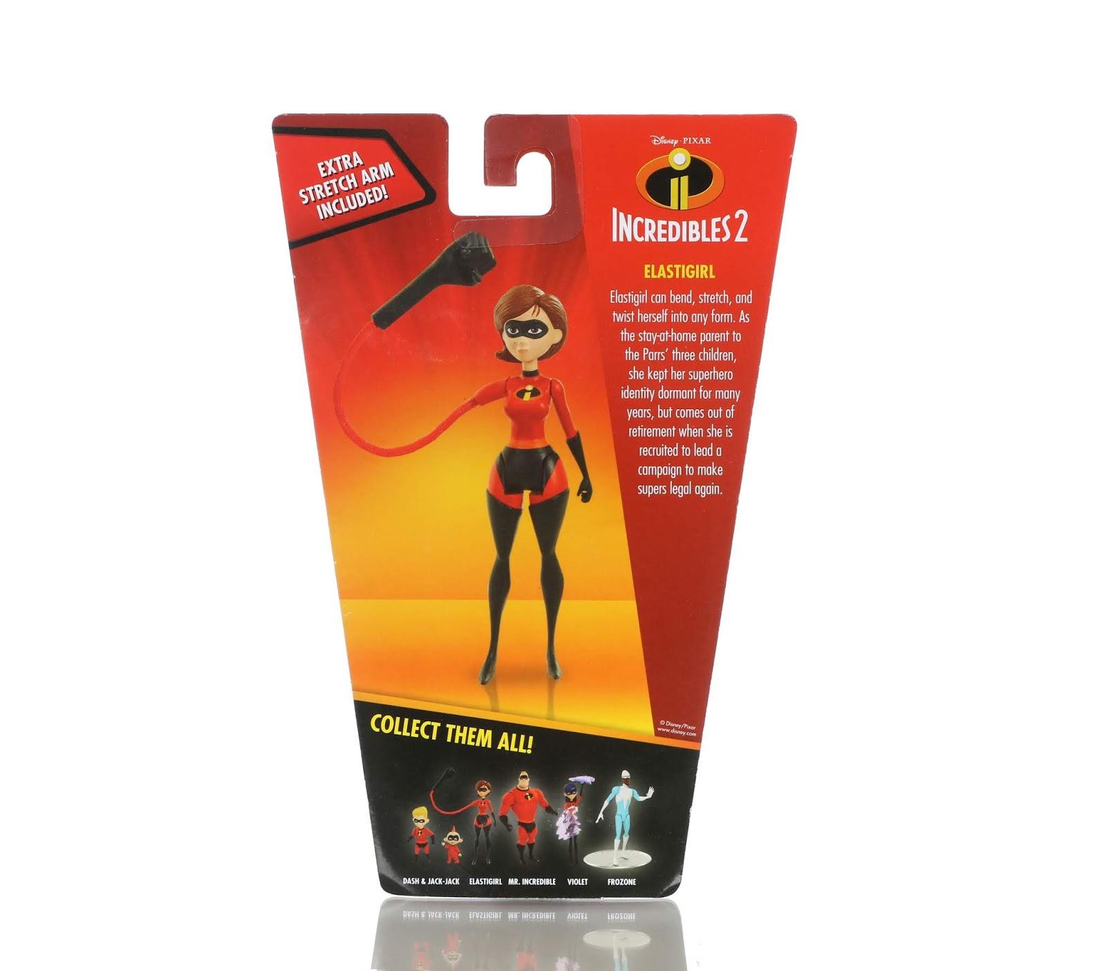 "Incredibles 2 Jakks Pacific 4"" Action Figure Collection Review"