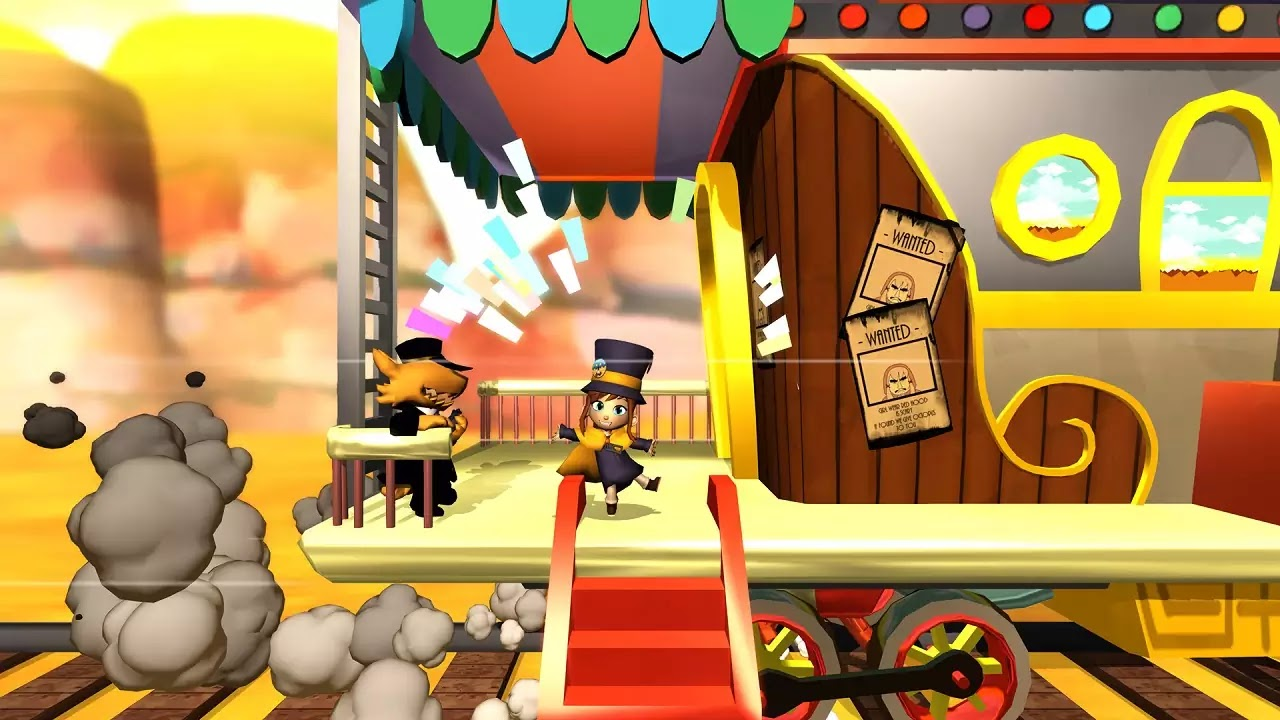 A Hat in Time game screenshots