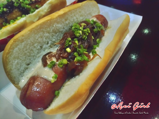 Gourmet Pinoy Hotdogs at Franks | Bistek Tagalog
