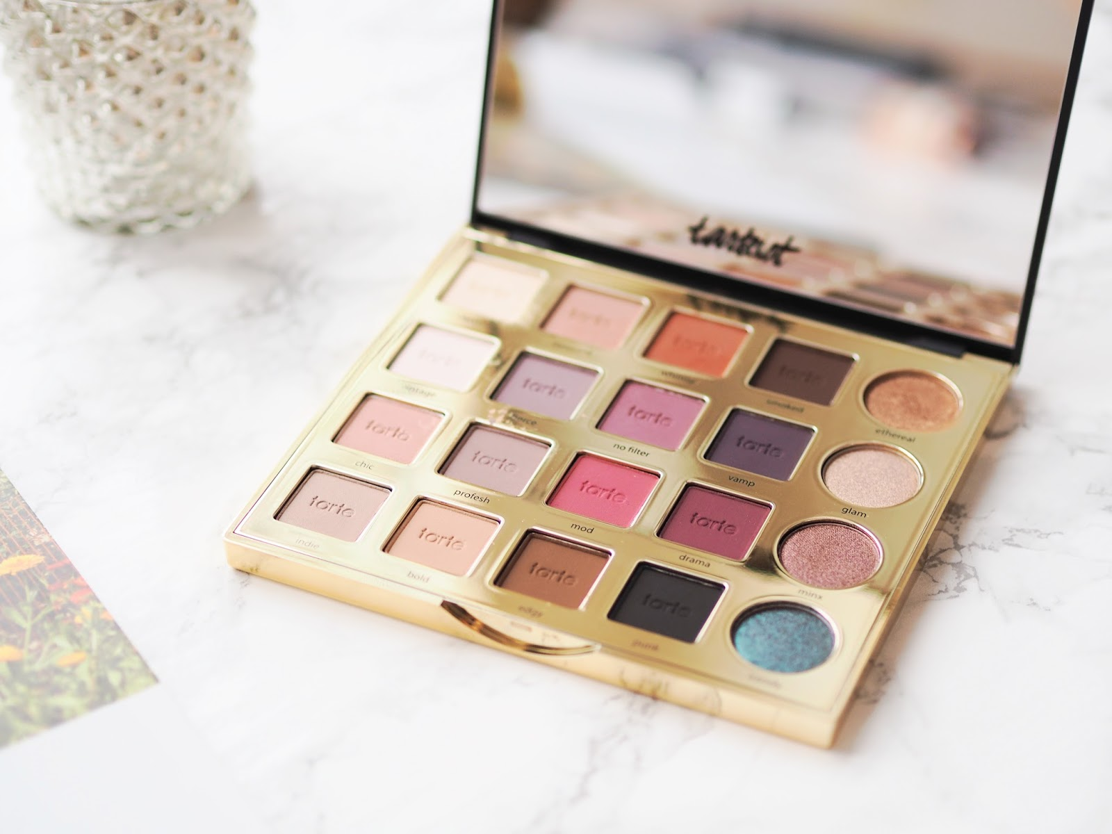 Tarte Tarteist PRO Amazonian Clay Palette, review, swatches