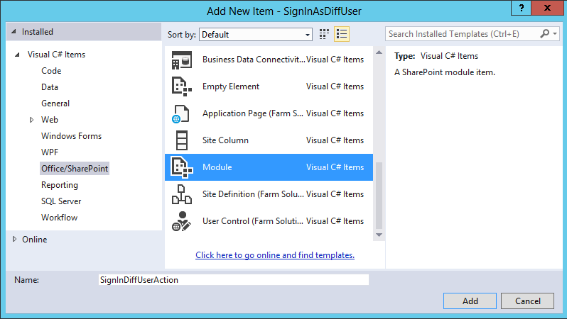 sign in as different user menu option is missing in sharepoint server 2013