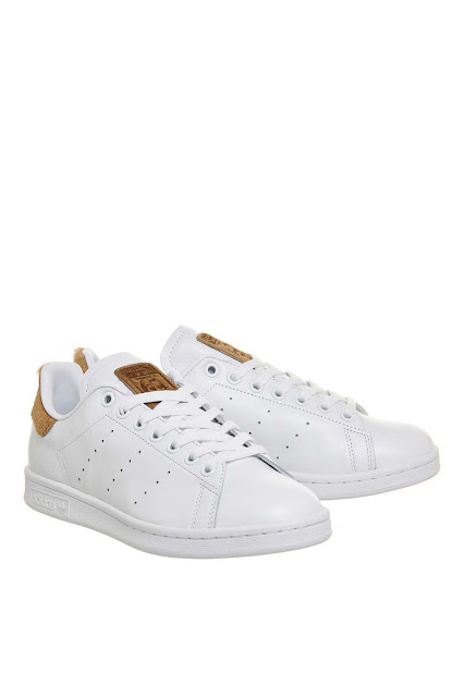 stan smith tan suede trainers, adidas white tan trainers, topshop adidas trainers,