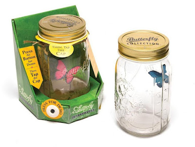 Animated Butterfly in a Jar