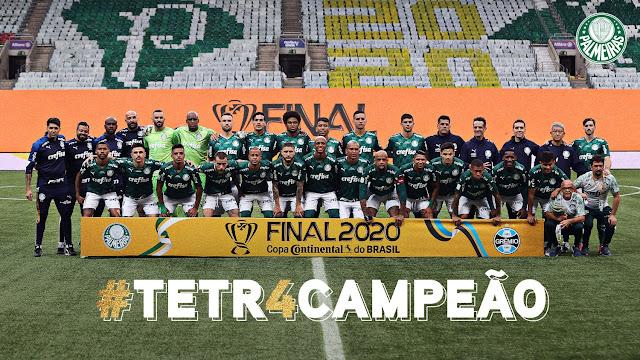 Palmeira campeão copa do Brasil