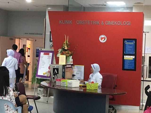 TTC Journey I Part 2: Appointment pertama di Hospital Putrajaya.