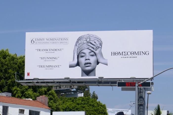 Beyoncé Homecoming 6 Emmy nominations billboard