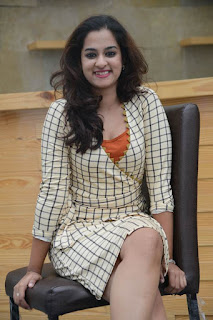 Nanditha Raj Stills in Short Dress at International DJ Musical Concert Curtain Raiser Press Meet ~ Celebs Next