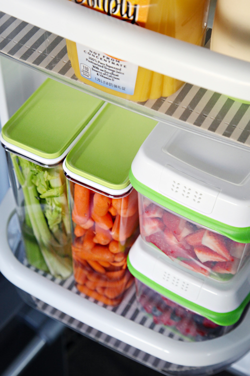 IHeart Organizing Organized Counter Depth Fridge Freezer Drawer