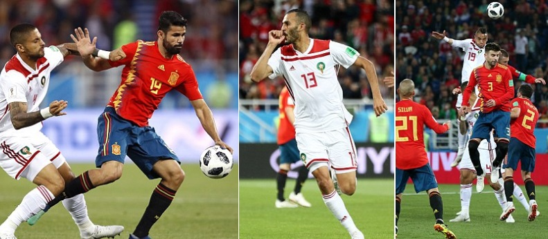 Spain take on Morocco in their last group game in the FIFA World Cup 2018  and they will be looking to win this game and secure qualification to  knockout ... 1fec8c4237f28