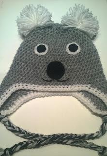 Cappello Koala in lana merino.