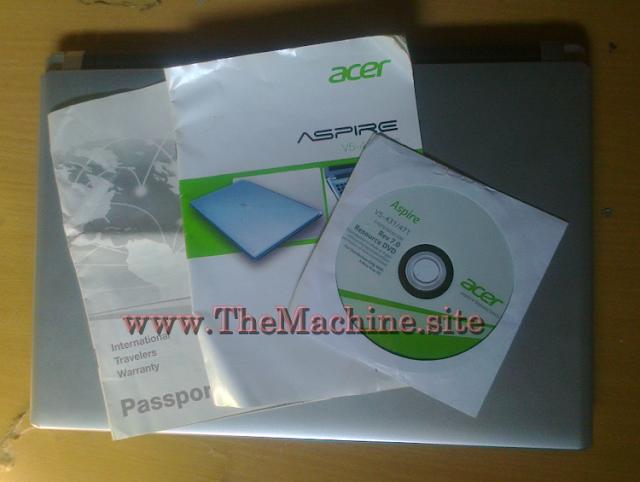 Bundling Paket  ACER Aspire V5 Series