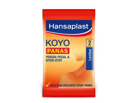 Nyeri Otot, Gunakan Koyo Hansaplast