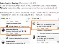 Wiranto Diserang, Kenapa Sebagian Komentar Publik Justru Tak Simpatik?