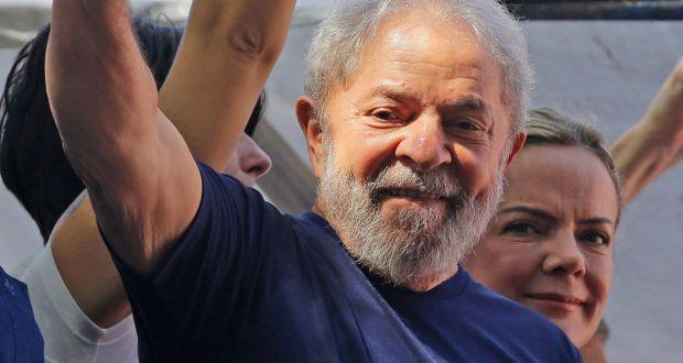 Brazil's Ex-president Lula Surrenders