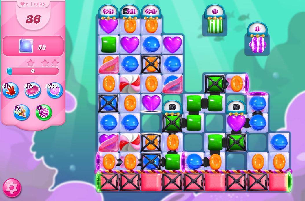 Candy Crush Saga level 88493