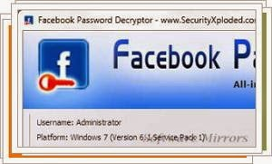 Facebook Password Decryptor 6.5 Download