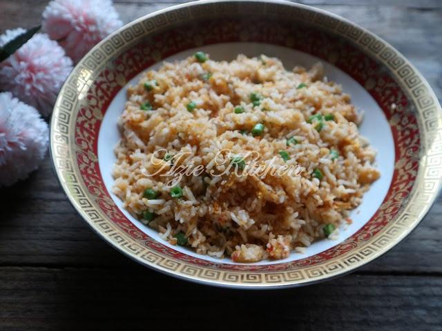 Nasi Goreng Majerin Simple Yang Sedap