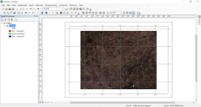 Landsat with Grid