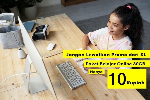 paket belajar online xl