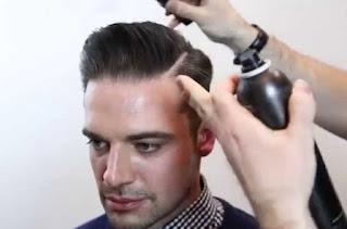 finising dalam mencukur rambut