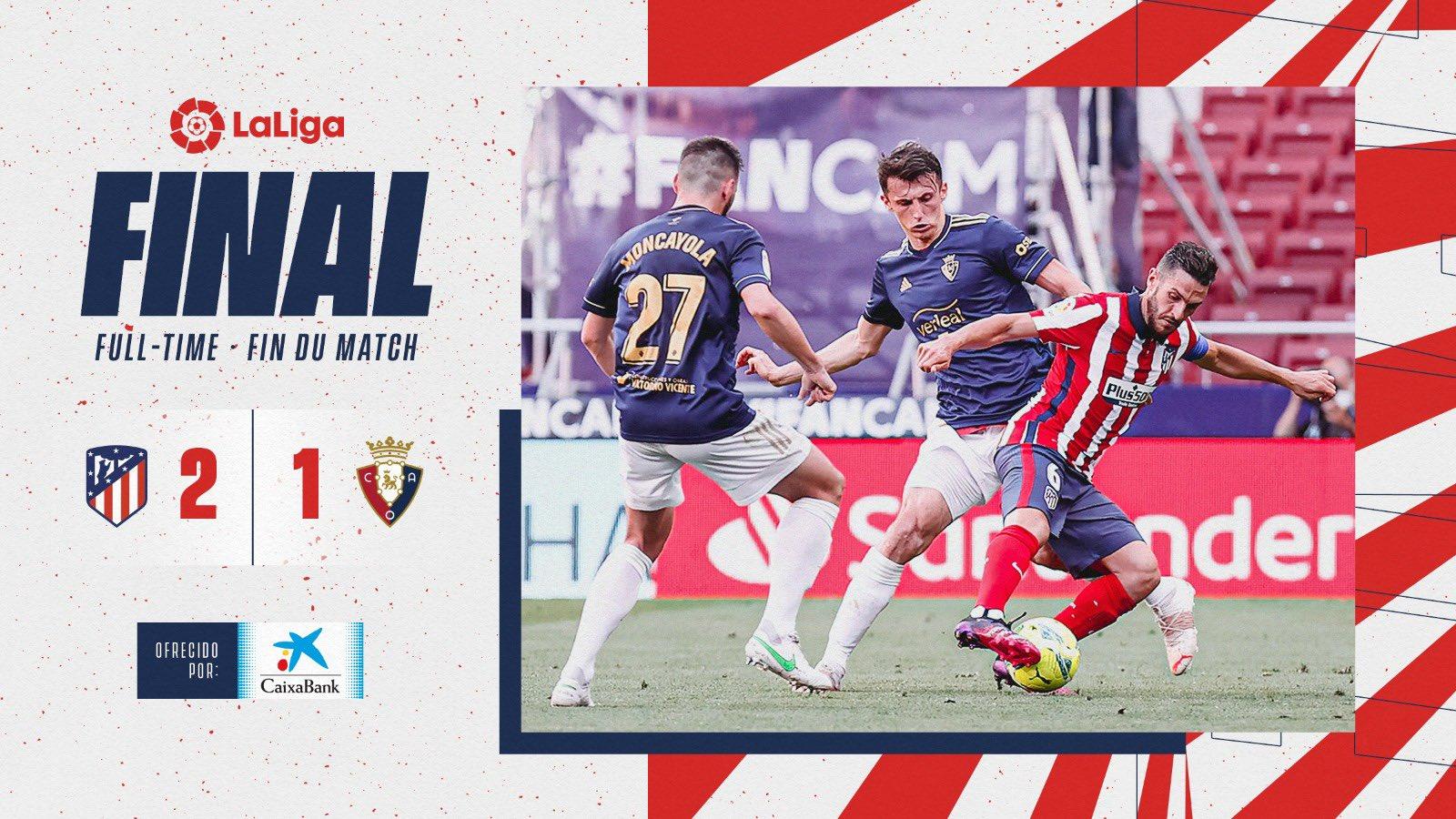 أتلتيكو مدريد ضد أوساسونا