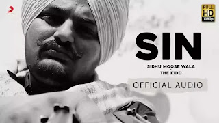Checkout New Song Sin Lyrics penned and sung by Sidhu Moose Wala