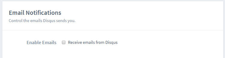 Disqus Email Notification Has Error