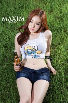 Perempuan korea tersexy