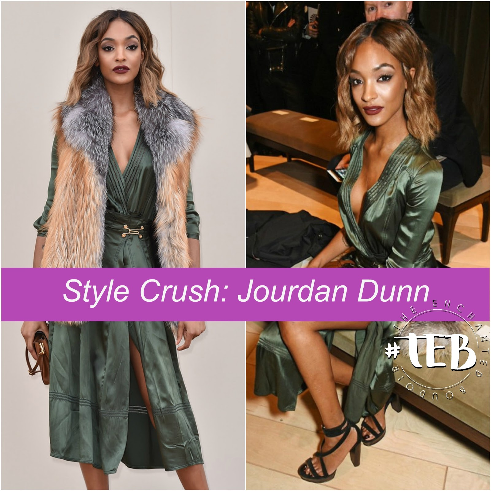 jourdan dunn street style fashion week