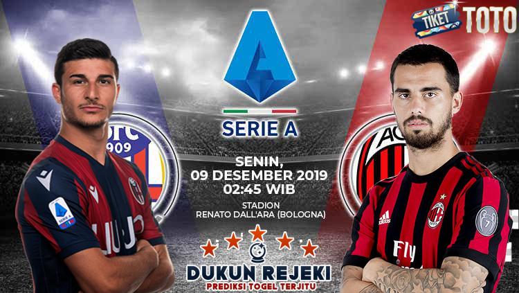 Prediksi Bologna vs AC Milan 09 Desember 2019