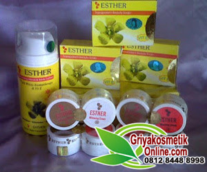cream wajah esther original