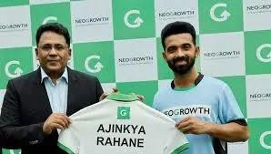 Ajinkya Rahane becomes brand ambassador of Neogroth