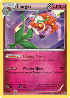 Florges BREAKthrough Pokemon Card