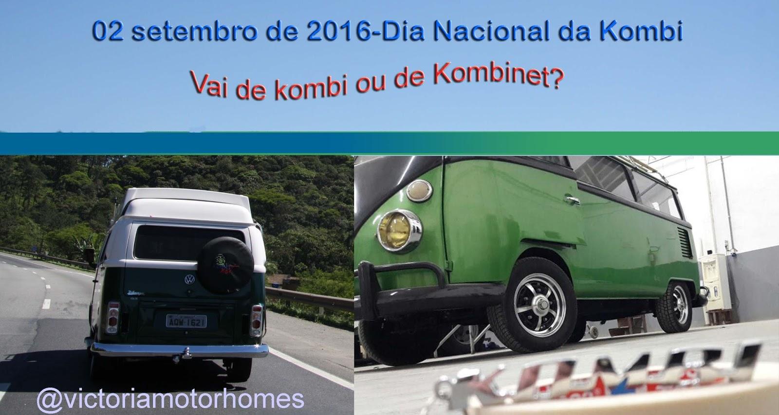 VICTÓRIA MOTOR HOMES : Dia Nacional da Kombi também é dia de  #1F7C82 1600x853 Balcão Banheiro Joinville