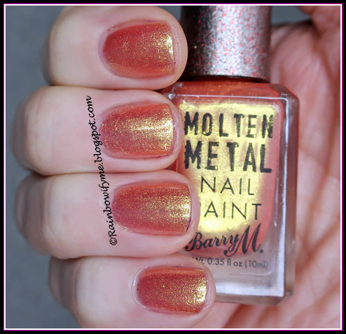 Barry M Molten Metal ~ Peachy Feels