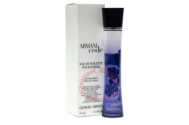 GIORGIO ARMANI Code Pour Femme EDT Tester Perfume
