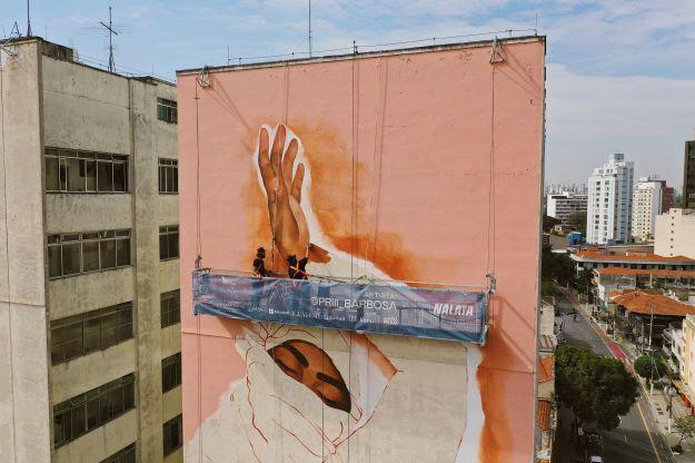 São Paulo recebe 1ª edição do NaLata Festival Internacional de Arte Urbana