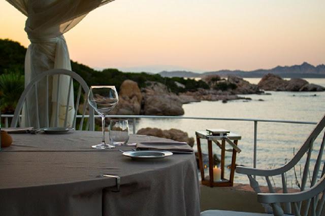 Restaurante em Sardenha