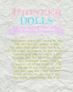 Pioneer Handkerchief Dolls