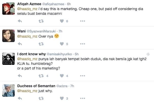 Datuk Aliff Syukri Dikritik Akibat Acah-Acah Orang Kampung Makan Durian Di KLIA