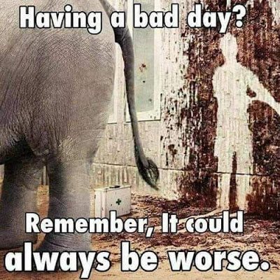 Having a bad day...