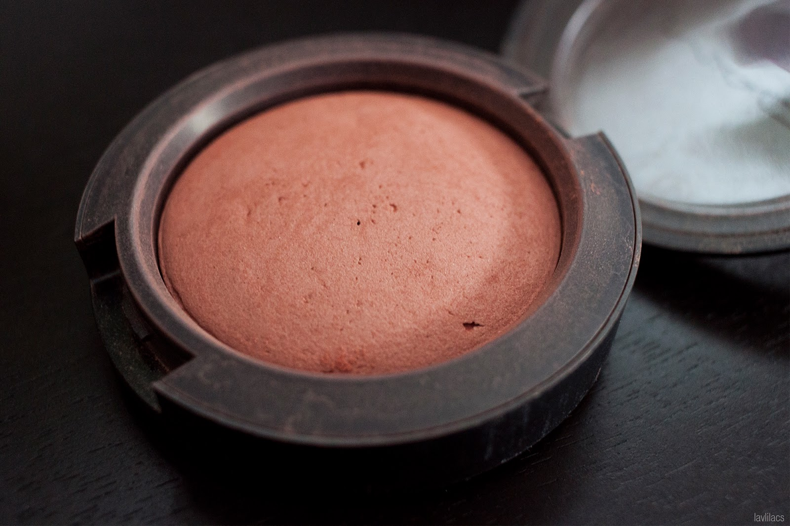 Project Make A Dent 2016 MAC Mineralize Blush Utterly Game  - Before results