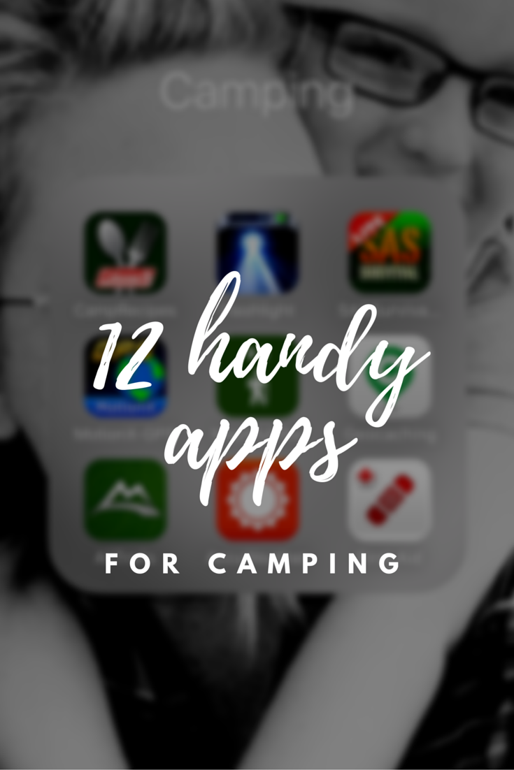 Hall Around Texas - 12 handy apps to have for camping